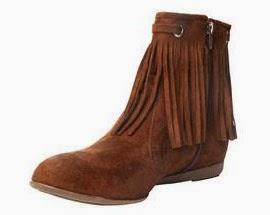coleção inverno Riachuelo bota couro com franjas feminina