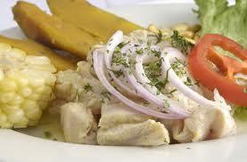 Receta de ceviche de pollo en Recetas de Pollo