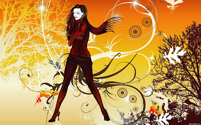 Abstract Girl Wallpapers