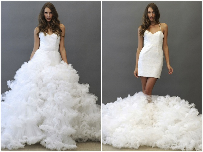 Wednesdays Wedding Dress Wow