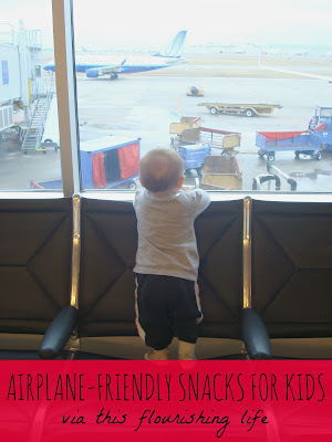 This Flourishing Life: Airplane Friendly Snack Ideas For Kids