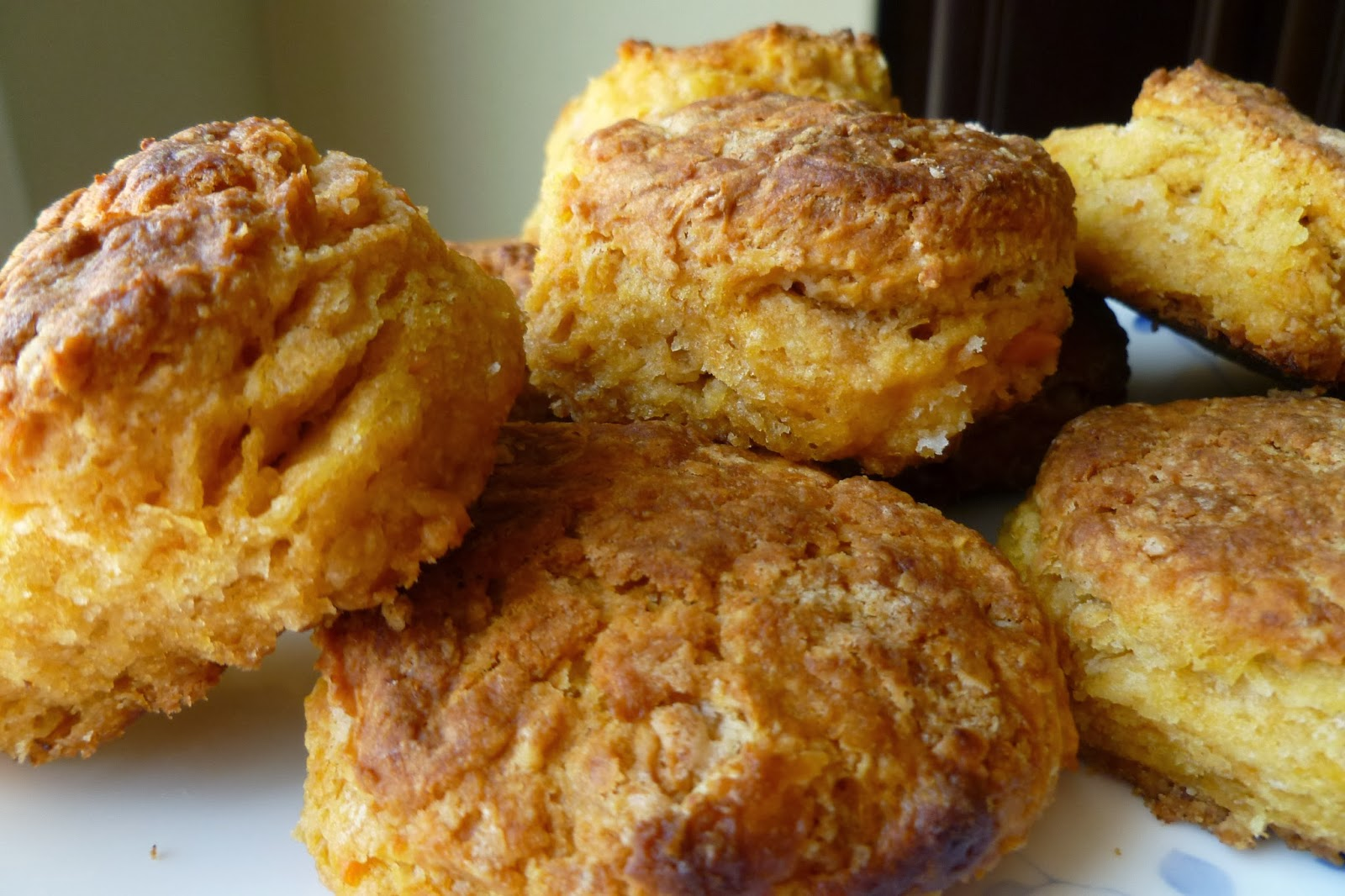 Sweet Potato Biscuits - made October 12, 2013 from Martha Stewart