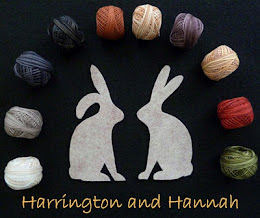 Harrington and Hannah BOM button