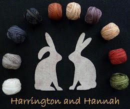 Harrington and Hannah BOM button