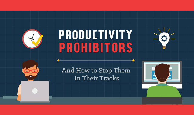 Productivity Prohibitors and How to Stop Them in Their Tracks