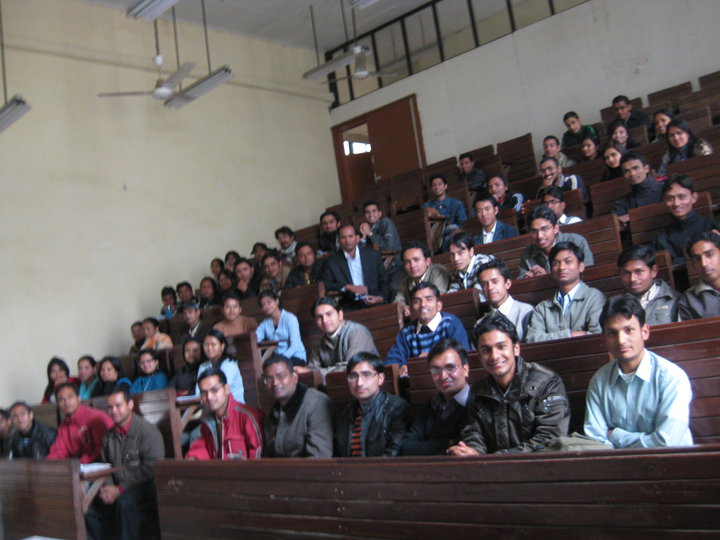 M.Sc. Students of CDC (2011 Batch)