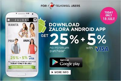 Peluncuran ZALORA Android App