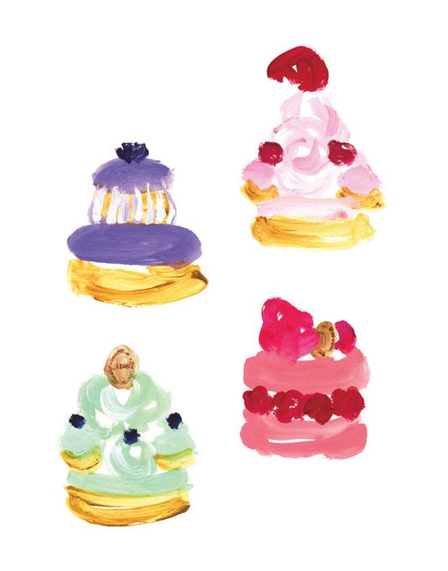 Miyuki Ohashi Colorful Illustrations