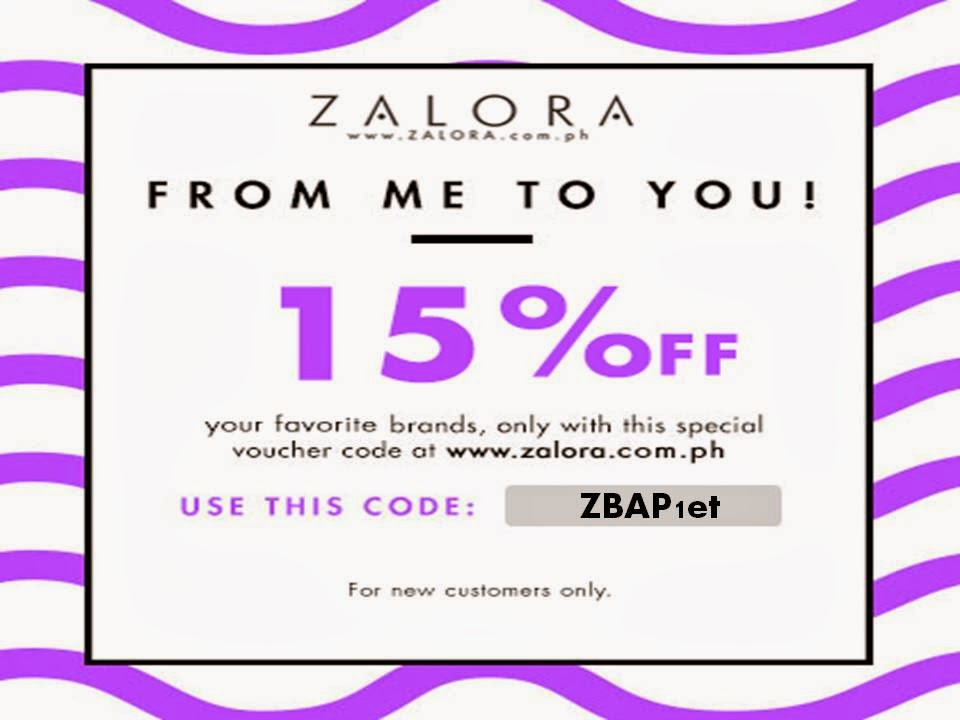 Discount code Zalora.com.ph
