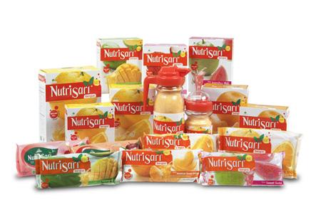 Resep Es Kepal Nutrisari Topping Stroberry, Leci dan Kiwi