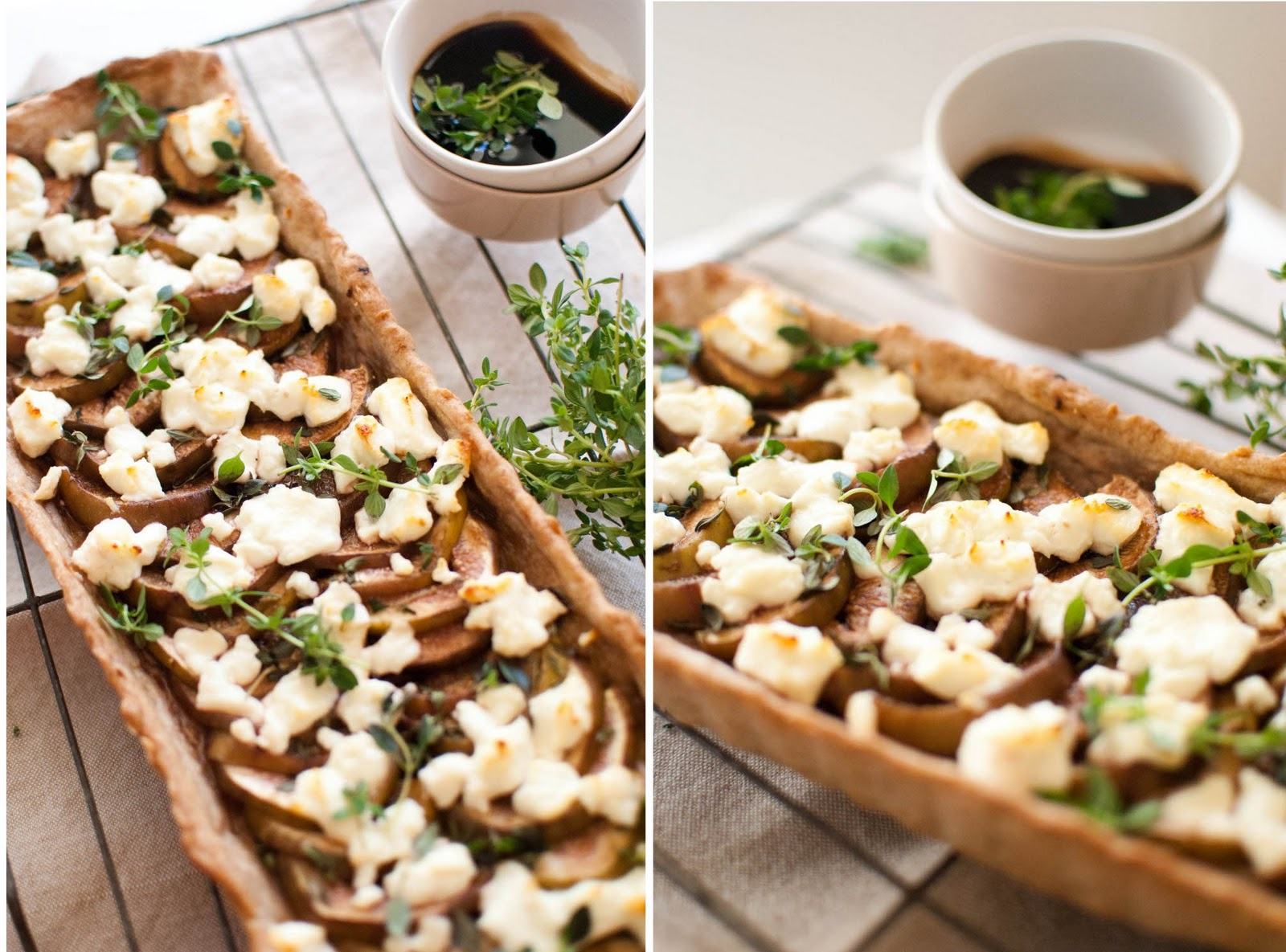 fig and goat cheese tart recipe bcliving fig and goat s cheese tart ...