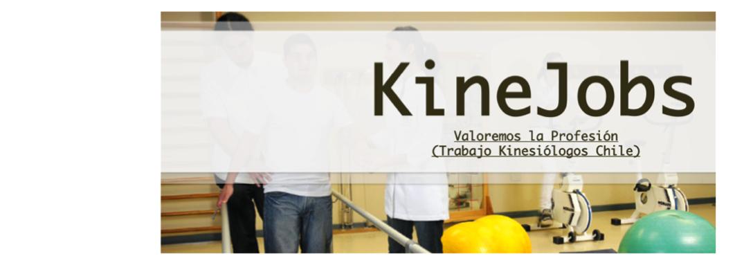 Trabajo Kinesiólogos