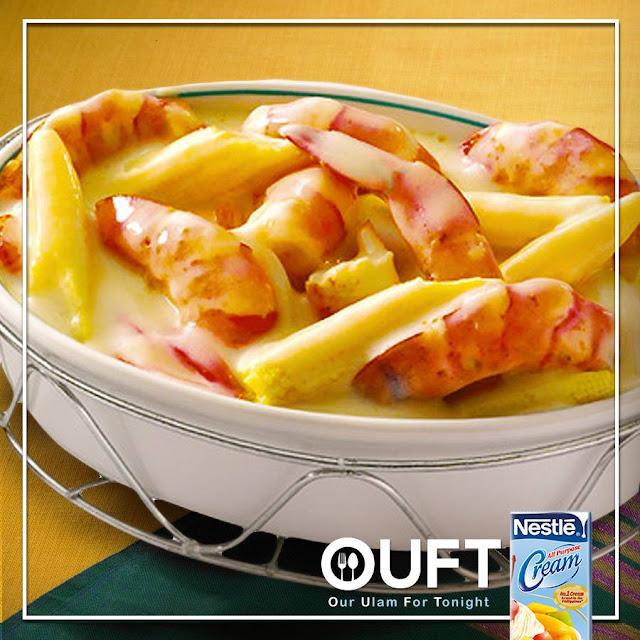 Creamy Seafood Casserole Recipe