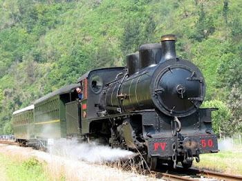 Locomotora de vapor FV  50