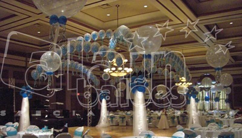 SOCORRO VASCONCELOS Decoraç u00e3o de Casamento com Bal -> Decoração Balões Casamento
