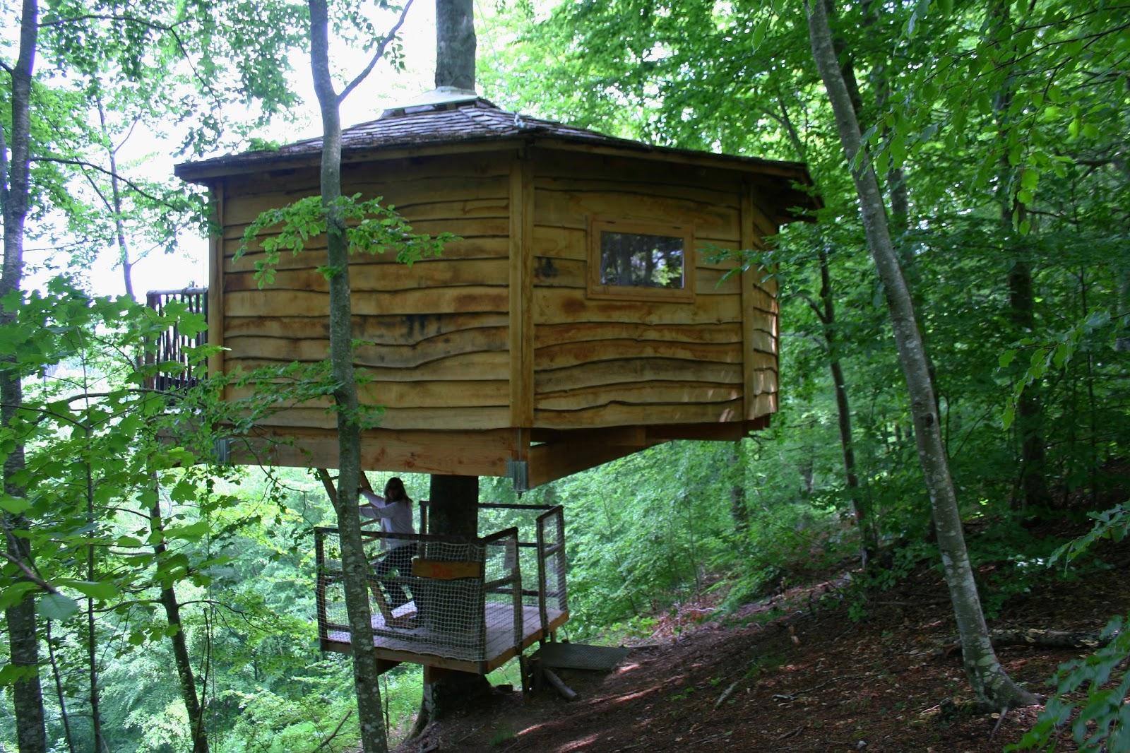 Cabanes els arbres dormir en una caba a en los rboles - Cabanas en los arboles ...