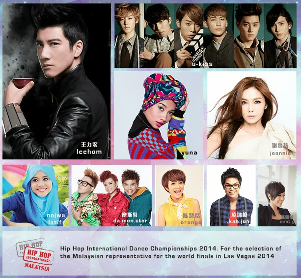 PLANET EUPE MUSIC FESTIVAL 2014 ft LEE HOM, U-KISS, Yuna, Jeannie, Najwa Latif @ The Carnivall, Sungai Petani [Kedah]