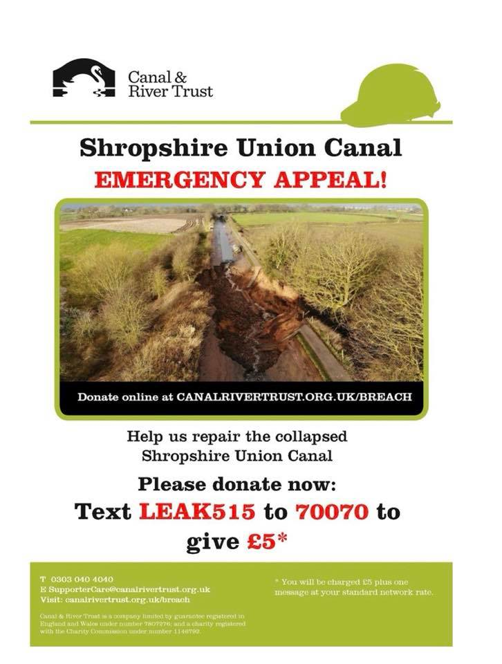 MIDDLEWICH BREACH 2018 CaRT EMERGENCY APPEAL