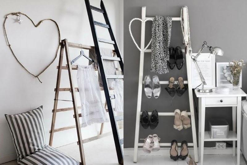 Escaleras viejas para decorar ideas creativas que for Ideas creativas para decorar tu cuarto