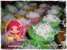 Lompang - Pandan, Jagung, Gula Merah, Ros & Lychee