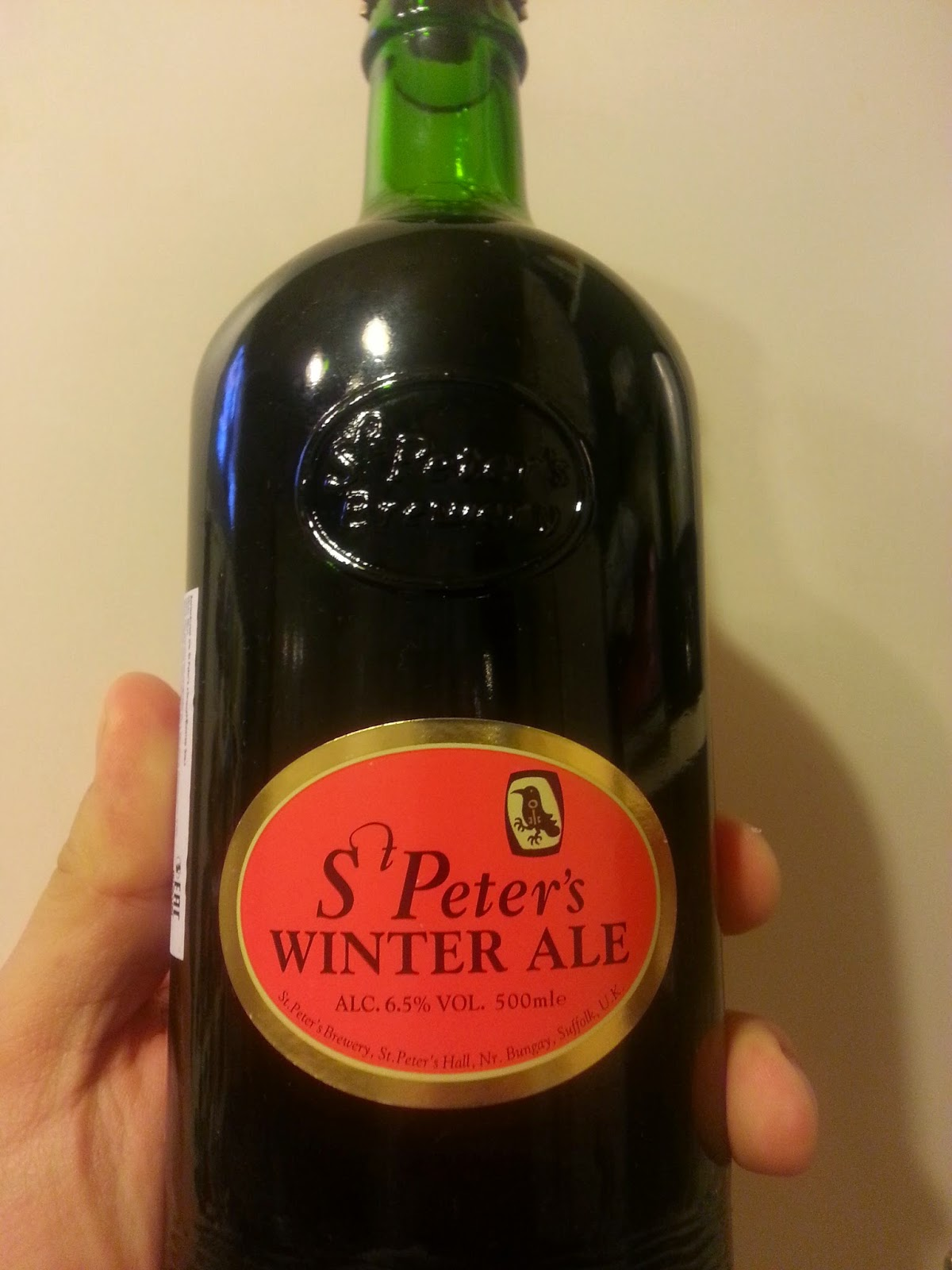 St. Peter's Winter Ale. Бутылка