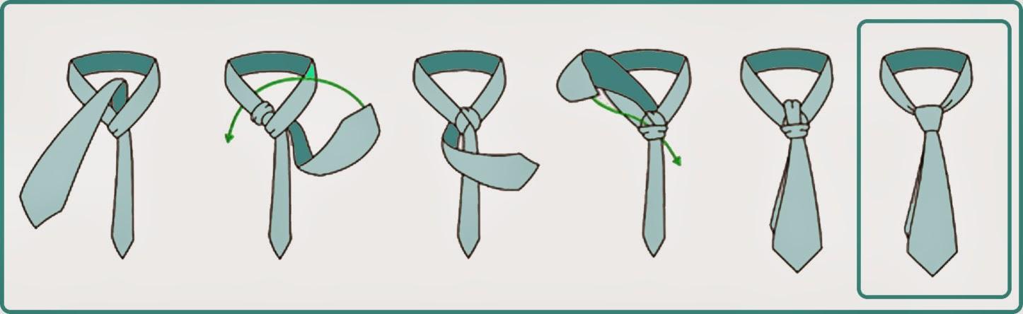 Protocool nudos de corbata evitando nudos en la garganta for Pasos para hacer nudo de corbata