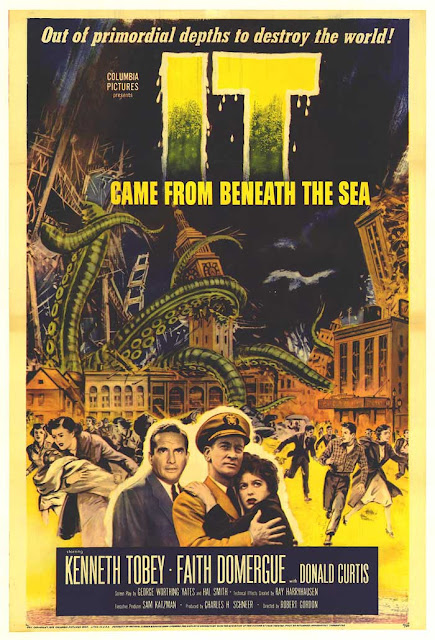 It Came from Beneath the Sea poster