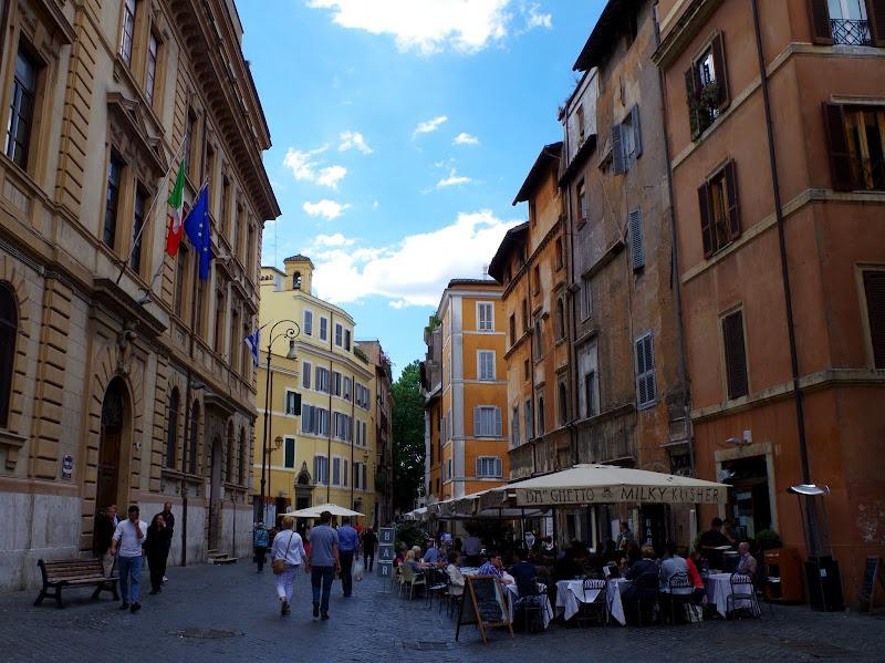 Jüdisches Viertel in Rom