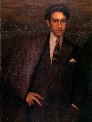 Retrato do poeta Olegário Mariano (1926) - Cândido Portinari