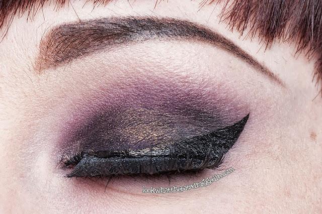 Femme Fatale Cosmetics Impsy eyeshadow Illamasqua Precision Ink liquid liner Abyss