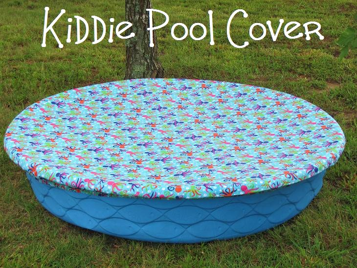 Mama to three chicks kiddie pool cover for Pool rund 4 5 m