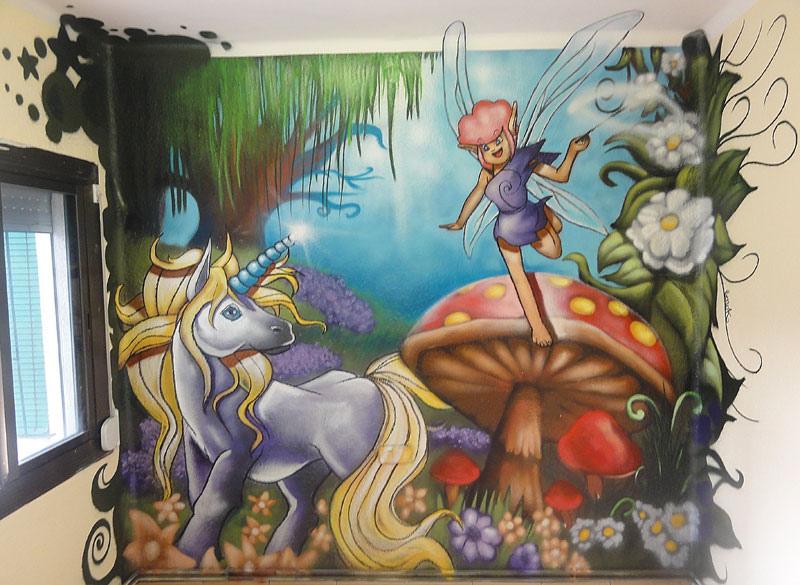 Berok graffiti mural profesional en barcelona noviembre 2012 for Graffitis para habitaciones