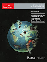Planetary Health: A Special Edition of the Economist Magazine (Credit: slideshare.net) Click to Enlarge.