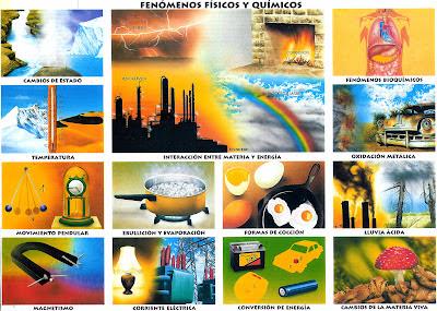 Los fenómenos físicos y químicos [Monografía]