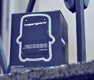 lovely package booster energy drink4 Clever energy drink packaging