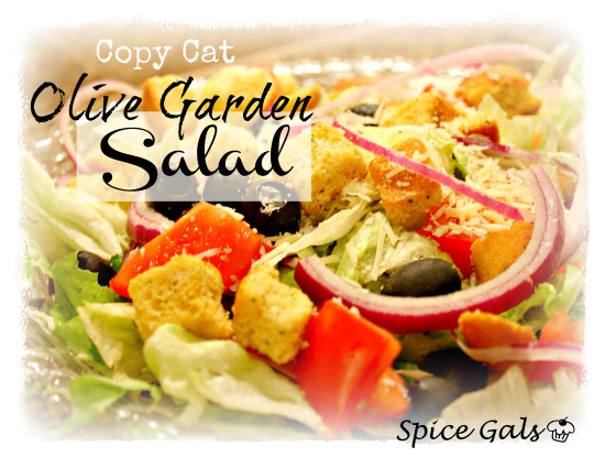 Olive Garden Salad Copy Cat Sugar N 39 Spice Gals