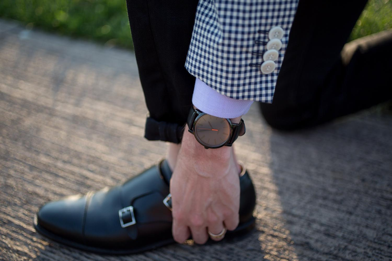 Allen Edmonds Munk Strap Shoes