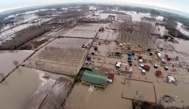 Ευρωπαϊκή βοήθεια 10 εκατ. ευρώ για τις πλημμύρες σε Αν. Μακεδονία - Θράκη και άλλες 4 Περιφέρειες
