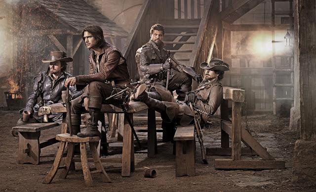 5 Séries Baseadas em Livros para Você Assistir - Musketeers