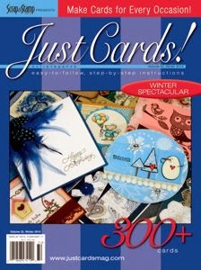 Just Cards Winter 2014