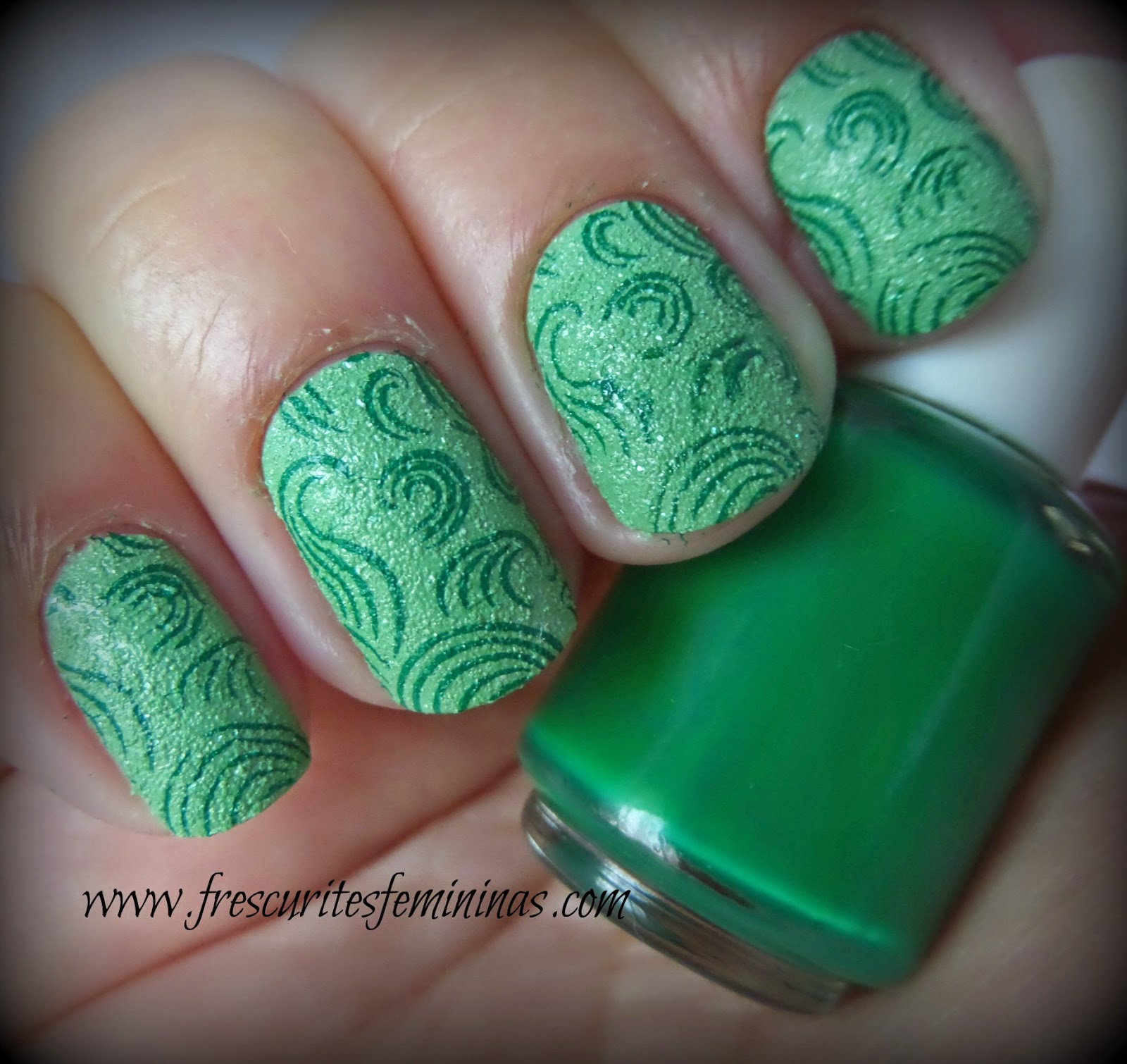 L.A. Girl, Green Sand, Frescurites Femininas, Green nail polish, Esmalte, mundo de unas