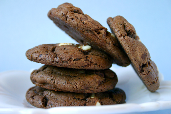 White Chocolate Mocha Cookies.