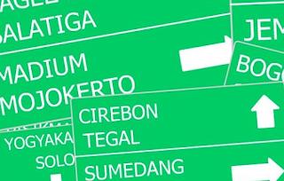 peta jalur mudik 2015 jawa dan sumatera