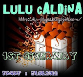 """Lulu Caldina 1st Giveaway"""