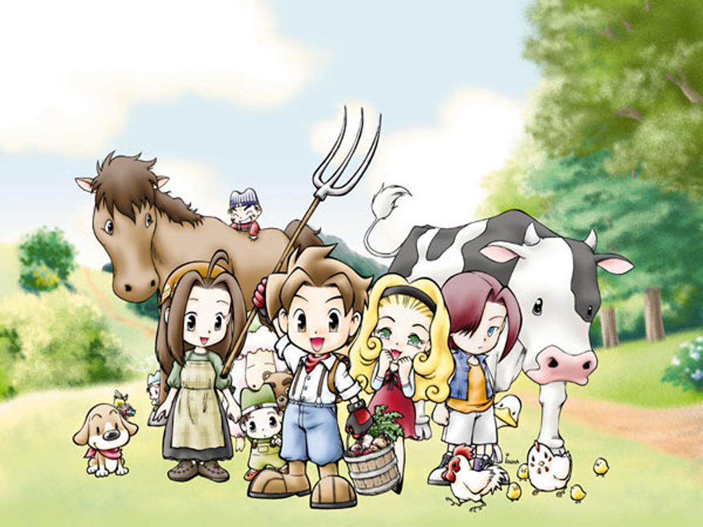 Game Harvest Moon Wonderful Life