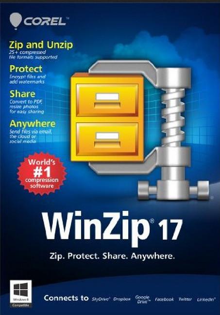 تحميل اخر اصدار برنامج الضغط الرائع WinZip 17.0 Build 10381 مجانا final update