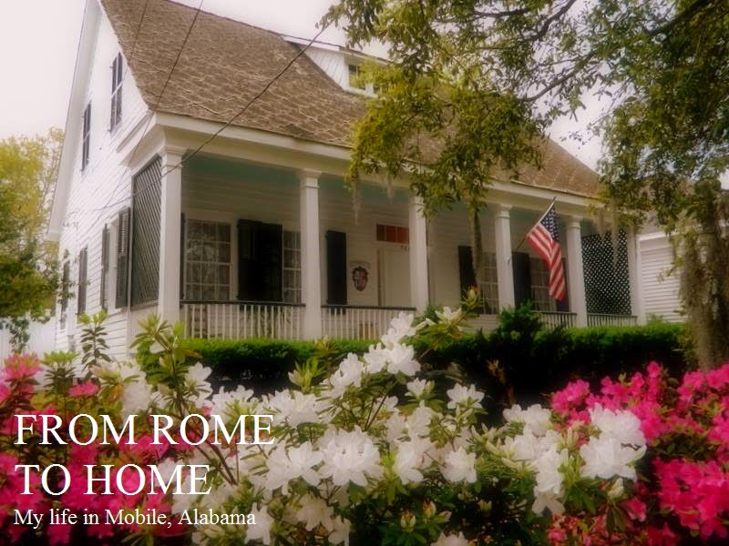 From Rome to Home: My life in Mobile, Alabama