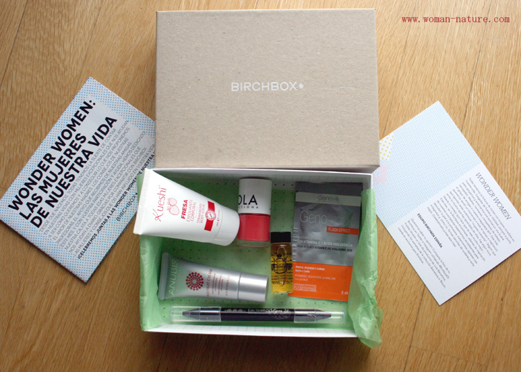 Birchbox Abril 2015  Wonder Woman