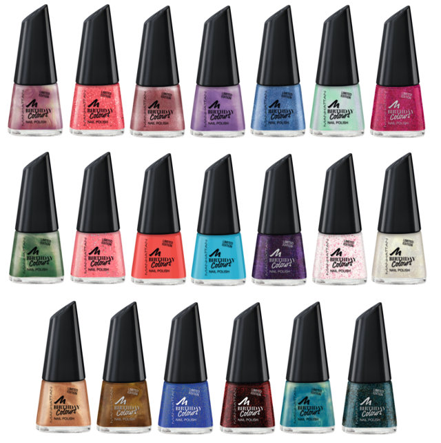 Preview Manhattan Birthday Colours - limited Edition (LE) - Oktober 2014