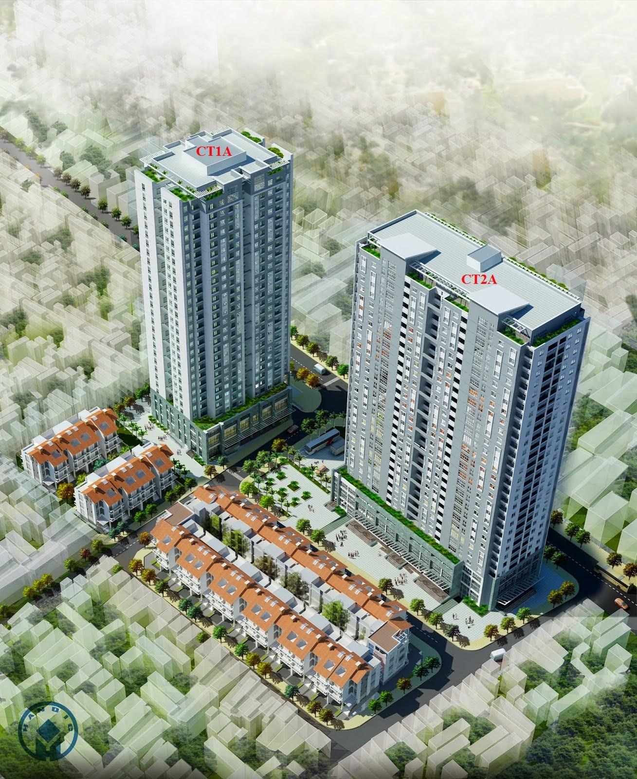 Tổng quan dự án chung cư 136 Hồ Tùng Mậu